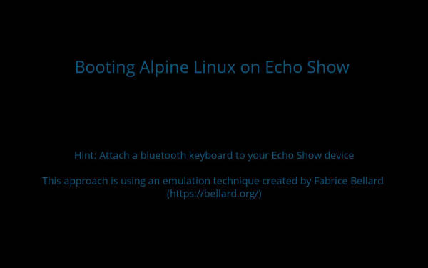 Proof of concept: use APL to boot Linux on an Echo Show
